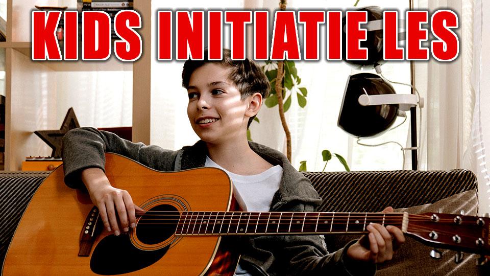 Gitaar initiatie kinderen